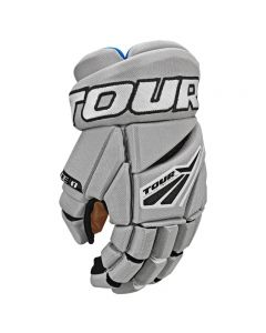 Code 1 Hockey Gloves - Grey/Black