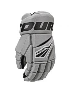 Code 3 Hockey Gloves - Grey/Black