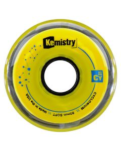 Kemistry CYCLONIUM inline roller hockey wheels - Soft (available in 72, 76, or 80 mm)