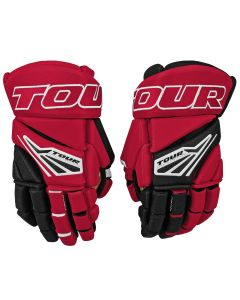 Code 1 Hockey Glove 21 Black/Red