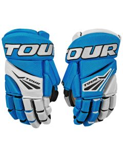Code 1 Hockey Glove 21 Blue/White